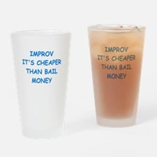 improv Drinking Glass