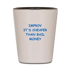 improv Shot Glass