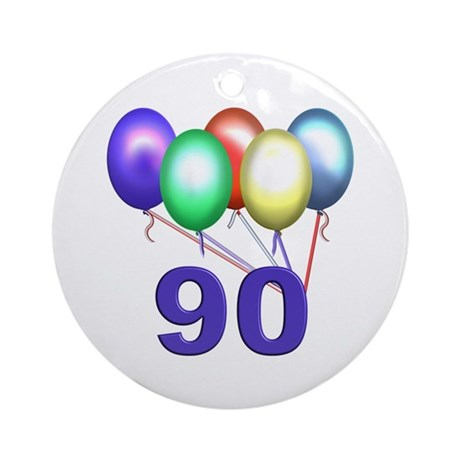90 Ornament (Round)