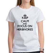 Keep Calm and focus on Herbivores T-Shirt