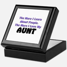 more I learn about people, more I love my AUNT Til