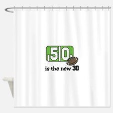 The New 30 Shower Curtain