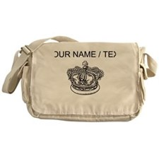 Custom Crown Messenger Bag