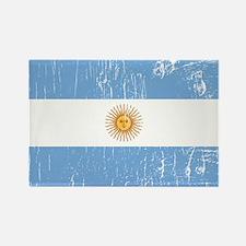 Vintage Argentina Rectangle Magnet