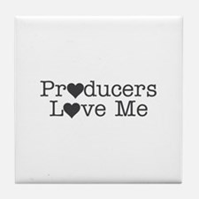 Producers Love Me Tile Coaster