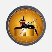 Anubis Wall Clock