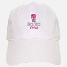 Cancer Messed With The Wrong Chick Baseball Baseball Cap