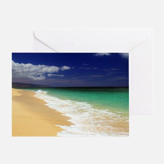 Hawaii - Sunset Beach Greeting Card