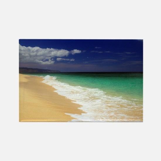 Hawaii - Sunset Beach Rectangle Magnet