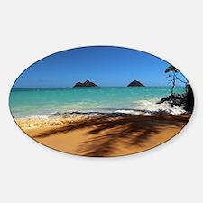 Hawaii - Lanikai Beach Decal
