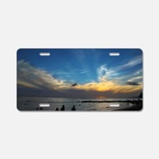 Hawaii - Waikiki Beach-1 Aluminum License Plate