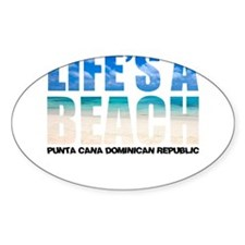 Cute Dominican republic Decal