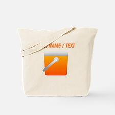 Custom Orange Cooler Tote Bag