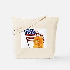 USA Kitten Tote Bag