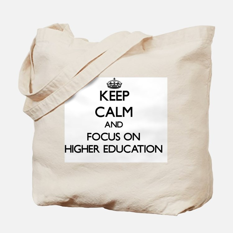 Cute Higher education Tote Bag