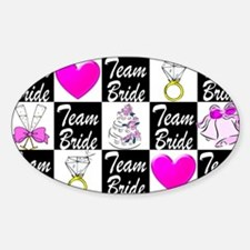 CHIC MAID OF HONOR Sticker (Oval)