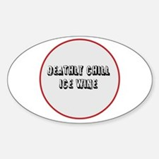 DEATHLY CHILLS ICED WINE Decal