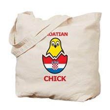 Croatian Chick Tote Bag