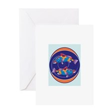 Pisces Sign Greeting Cards