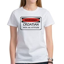 Attitude Croatian Tee