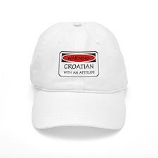 Attitude Croatian Baseball Cap