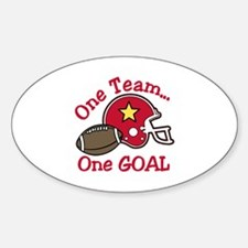 One Team Decal