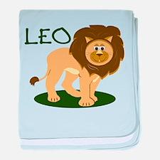 Leo Horoscope baby blanket