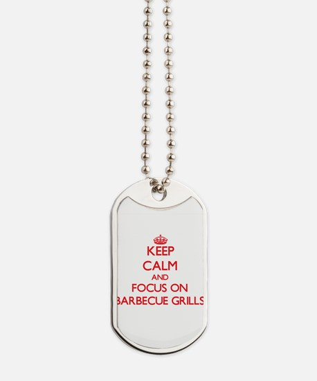 Unique I love grilling Dog Tags