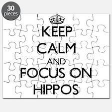 Unique Hippos Puzzle