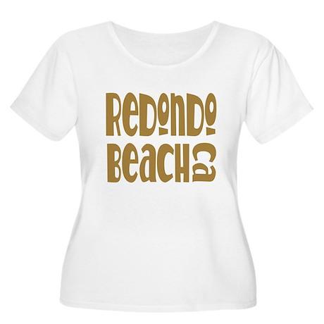 Redondo Beach Women's Plus Size Scoop Neck T-Shirt