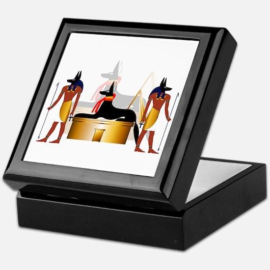 Cute Anubis Keepsake Box