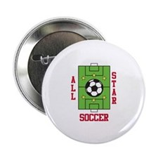 """All Star Soccer 2.25"""" Button (100 pack)"""