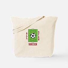 All Star Soccer Tote Bag