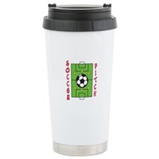 Soccer Pitch Travel Mug