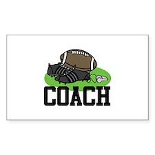 Football Coach Decal