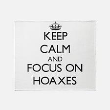 Cute Hoax Throw Blanket