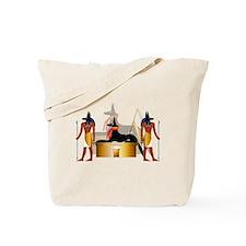 Funny Anubis Tote Bag