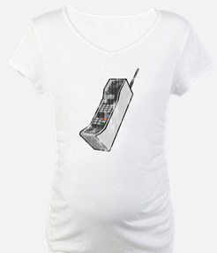 Distressed 80's Cellphone Shirt