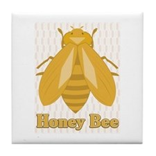 Honey Bee Tile Coaster