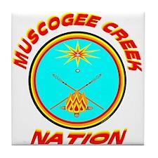 MUSCOGEE CREEK NATION Tile Coaster