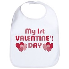 Baby's First Valentine's Day Bib