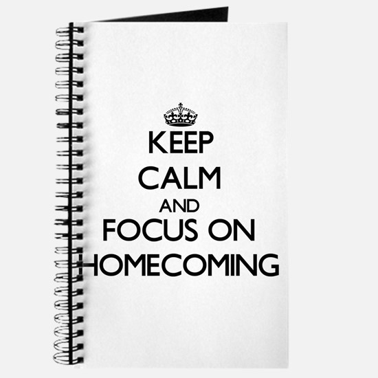Cute Homecoming Journal