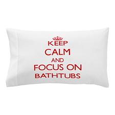 Cute Bathtub Pillow Case