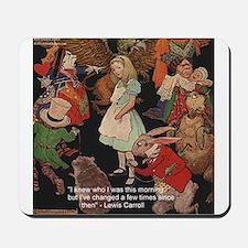 Alice & Animals Mousepad