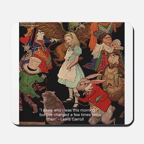 Alice & Animals Mousepad