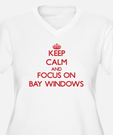 Keep Calm and focus on Bay Windows Plus Size T-Shi