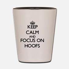 Keep calm frog Shot Glass
