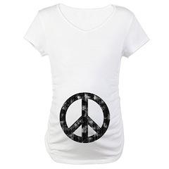 Worn Peace Sign Shirt