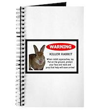 Cute Killer rabbit Journal