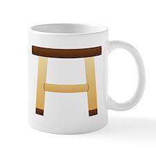 Wooden Stool Mugs